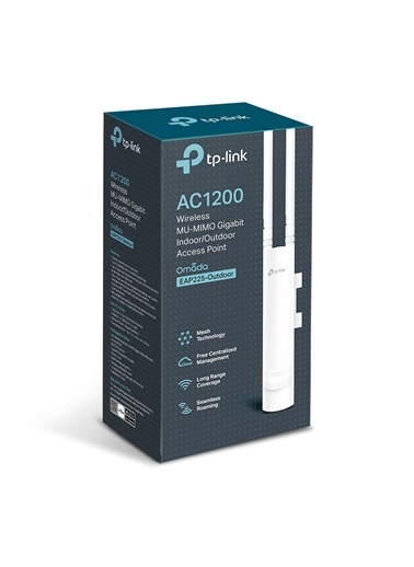 TP-LINK EAP225 AC1200 Mbps Kablosuz MU-MIMO Gigabit Dış Ortam Access Point Renkli